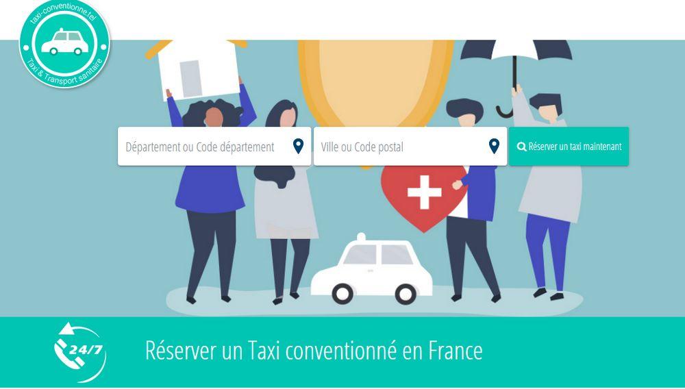 annuaire des taxis conventionnés
